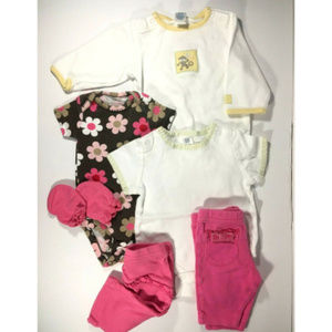 Lot of Assorted Newborn Baby Clothes | Girls